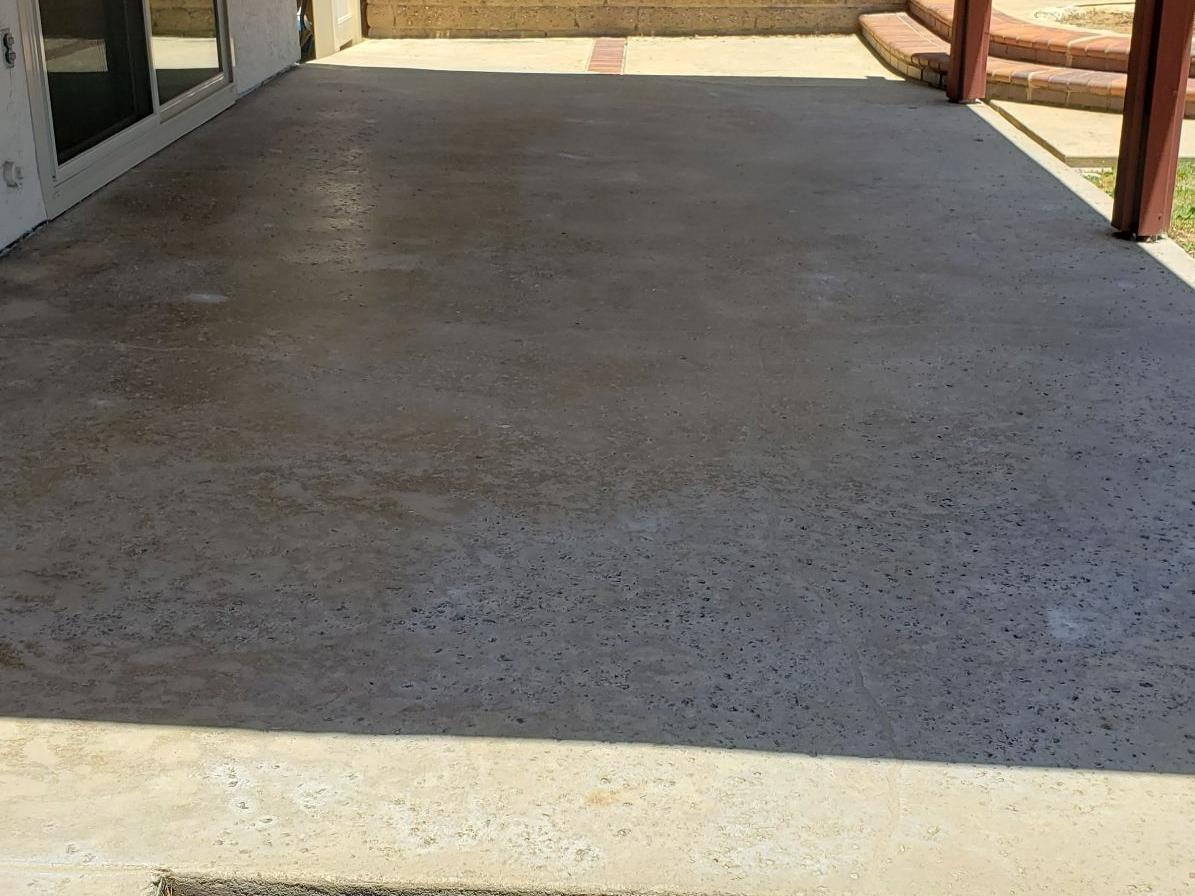 PolyLevel® Used To Lift Back Patio And Finished With NexusPro® In Oceanside, CA - After Photo
