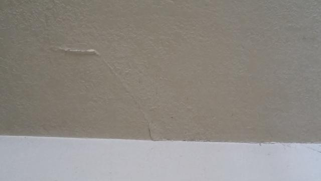 Wall Crack Closed after Foundation Lifting in Buena Park, Ca