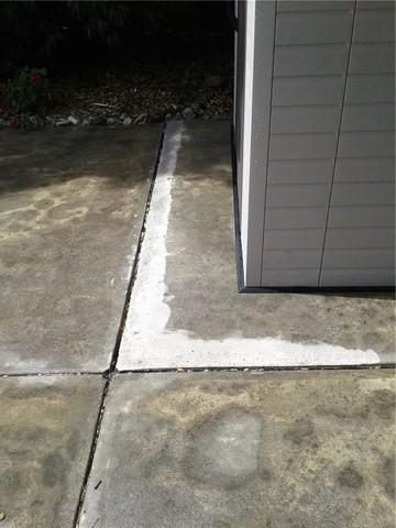 Concrete Grinding Before and After in San Marino, Ca