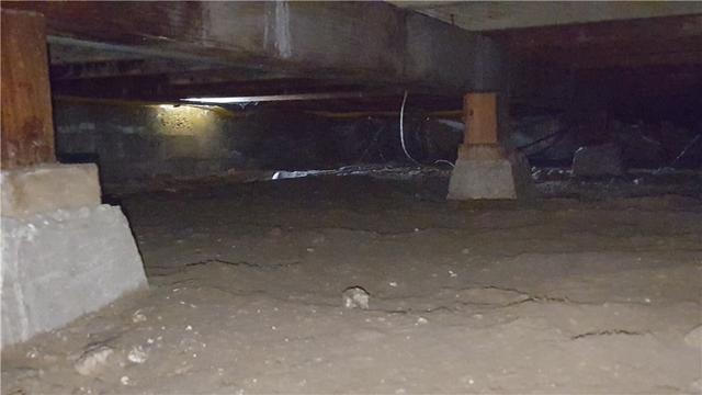 SmartJacks in Glendora Crawl Space