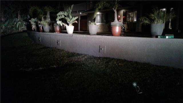 Helical Pier Install to Close Crack and Reinforce Retaining Wall in Orange, Ca