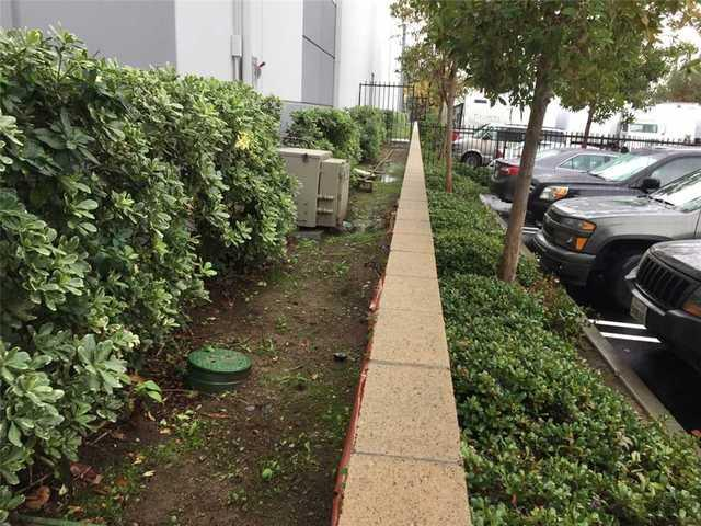 Landscaping Before and After Pier Install in Brea, CA