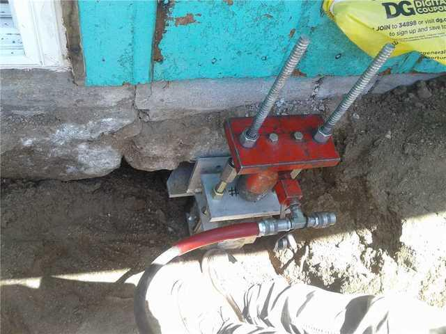 Strengthening a Home Foundation with Push Piers in Weldon