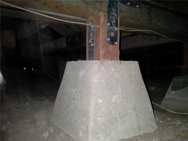 Seismic Retrofitting Support Posts in San Diego