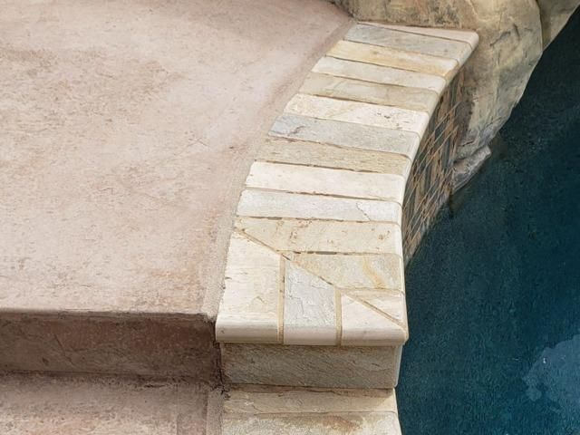 Using PolyLevel® And NexusPro® For Pool deck  In Temecula, CA