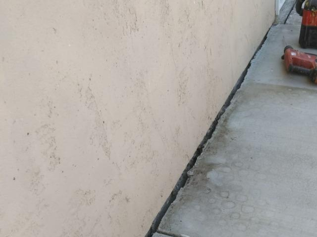 Using PolyLevel® To Lift Uneven Sidewalk In Spring Valley, CA