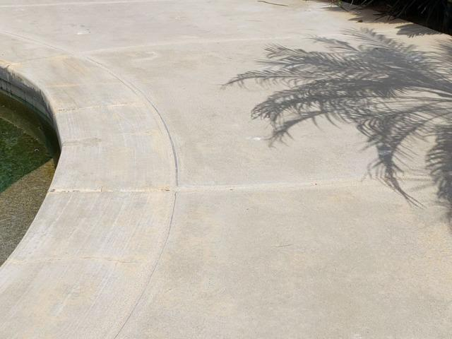 Pool Deck Concrete Repair in Fallbrook, CA - After Photo