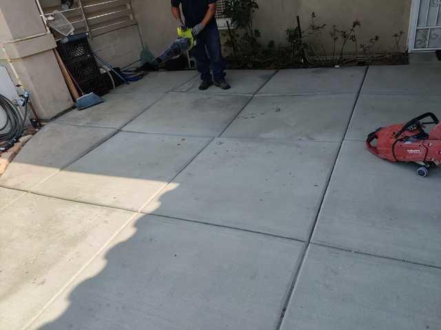 Using PolyLevel® & Nexus Pro® To Fix Uneven Concrete In Desert Hot Springs, CA