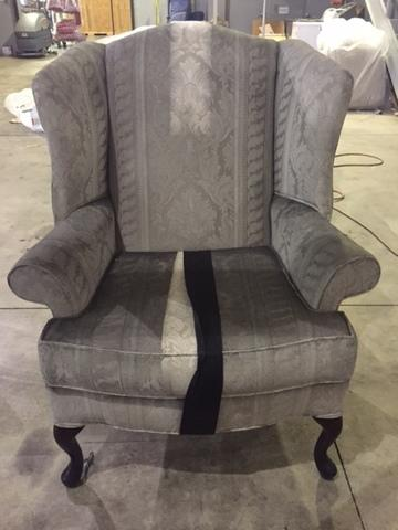 Smoke/Soot Damaged Item Restoration in Michigan - Before Photo