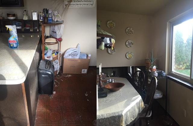 Hoarder Clean-up - Sterling Heights MI - Before Photo