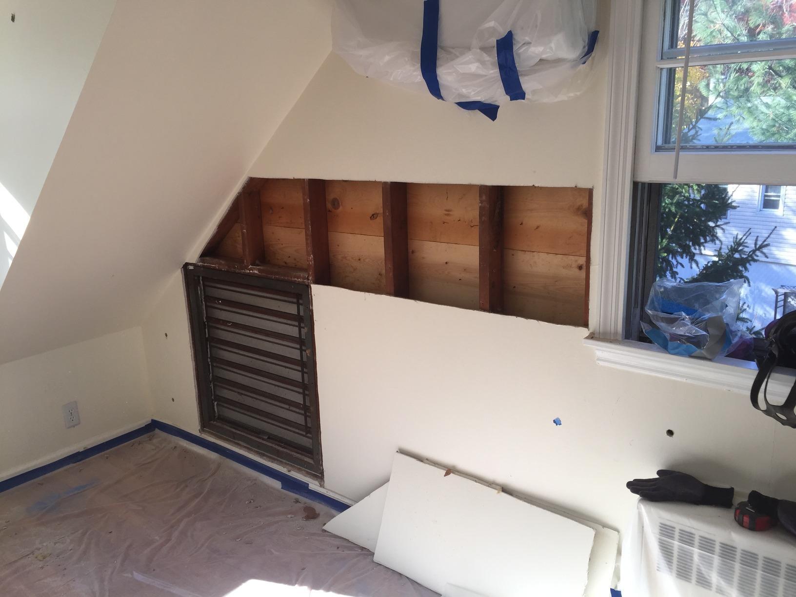 Removing Fiber Glass Insulation & Installing Spray Foam Insulation To Regain Comfort - Sloatsburg, NY - Before Photo