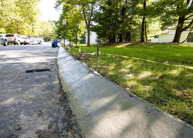 Curb Replacement in East Bruncwisk, NJ