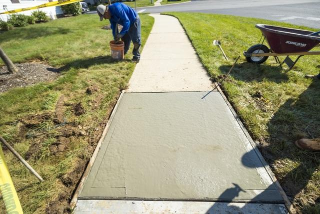 New Sidewalk in Monroe Township, NJ