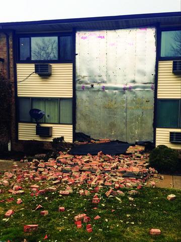 Wall Repair at Wyndmoor Apartments In Woodbridge, NJ