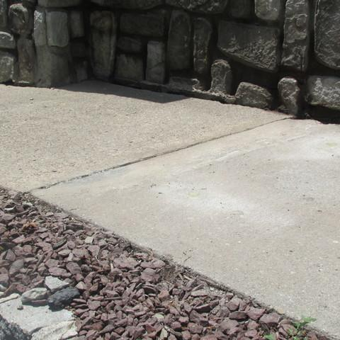 Lifting Sunken and Settled Concrete at Executive Property Management