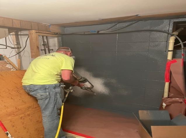 Foundation Waterproofing in Hysham, MT - After Photo