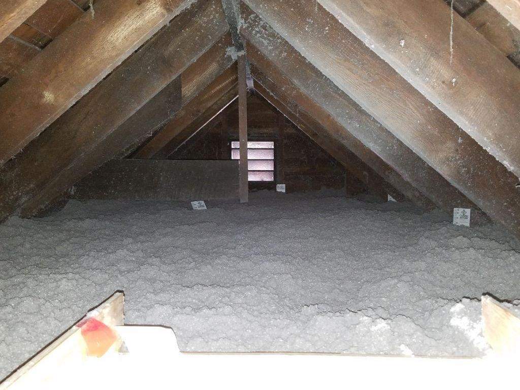 Attic and Basement Insulation in Coxsackie, NY - After Photo