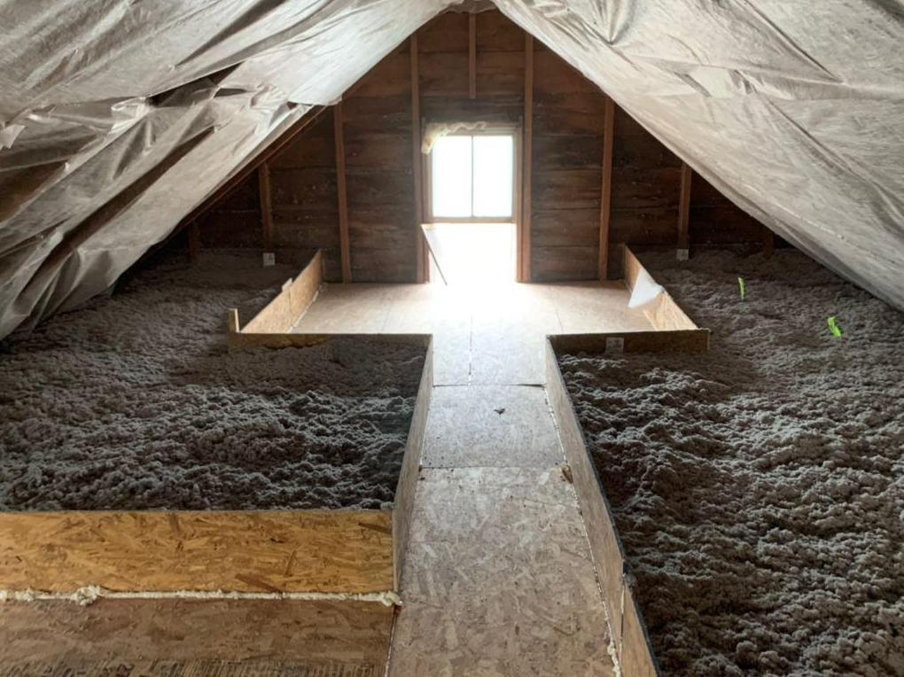 Attic Insulation in Margaretville, NY - After Photo