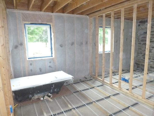 Dense Pack Cellulose for New Construction in Accord, NY