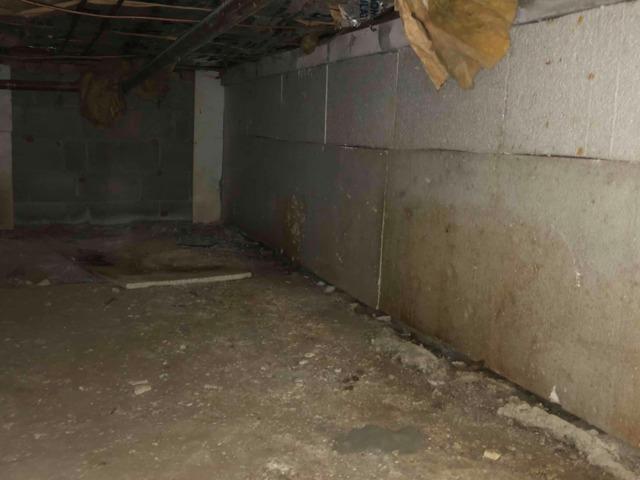 Basement Insulation with Vapor Barrier