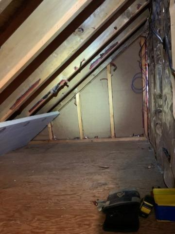 Kneewall Insulation with Foamax in Valatie, NY