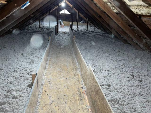 Attic Insulation with Catwalk/Storage In Mount Tremper, NY