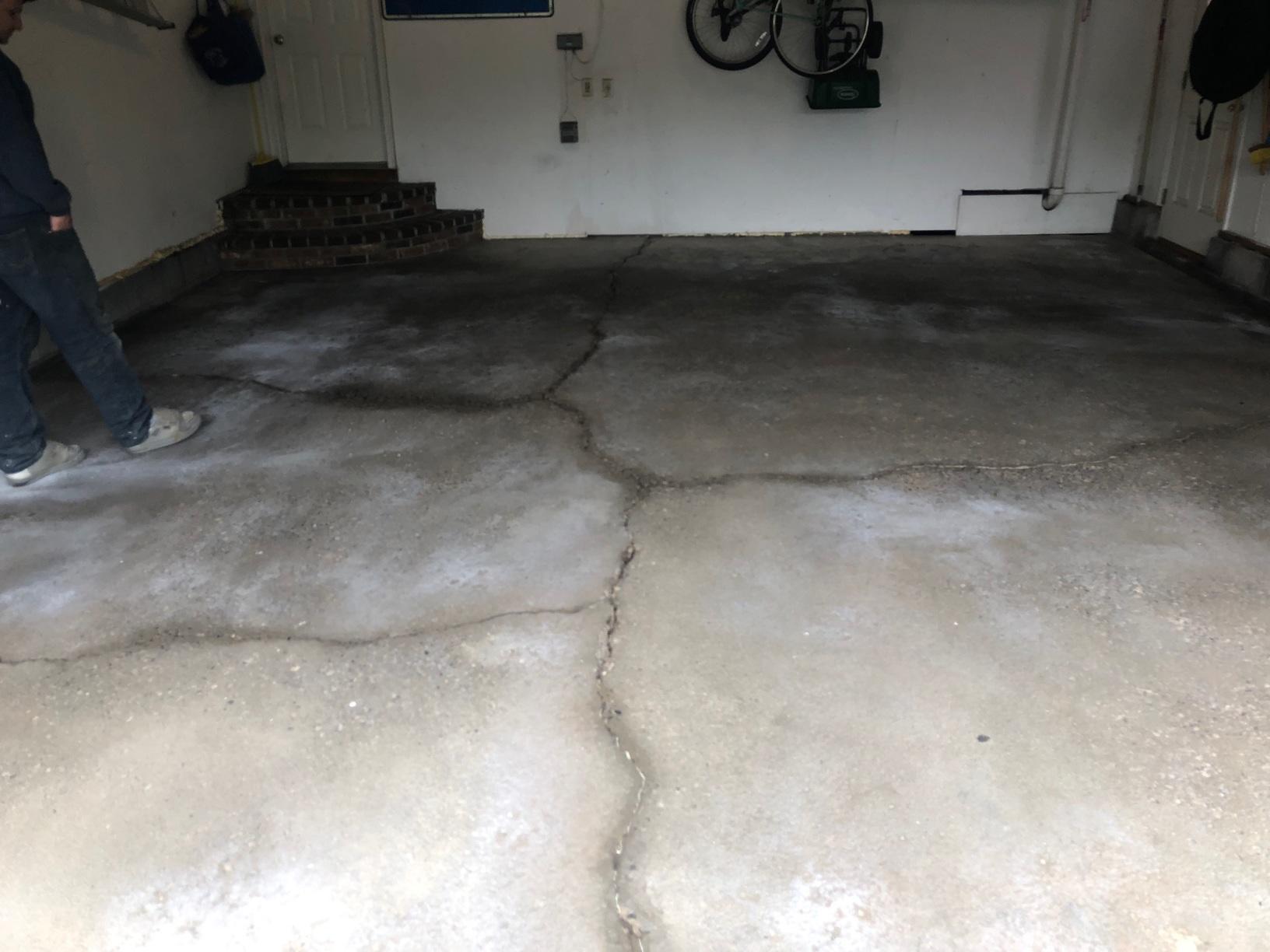 Concrete Repair Manlius, NY - Before Photo