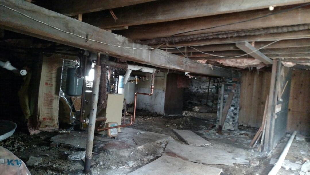 Foundation Repair Ithaca, NY - Before Photo