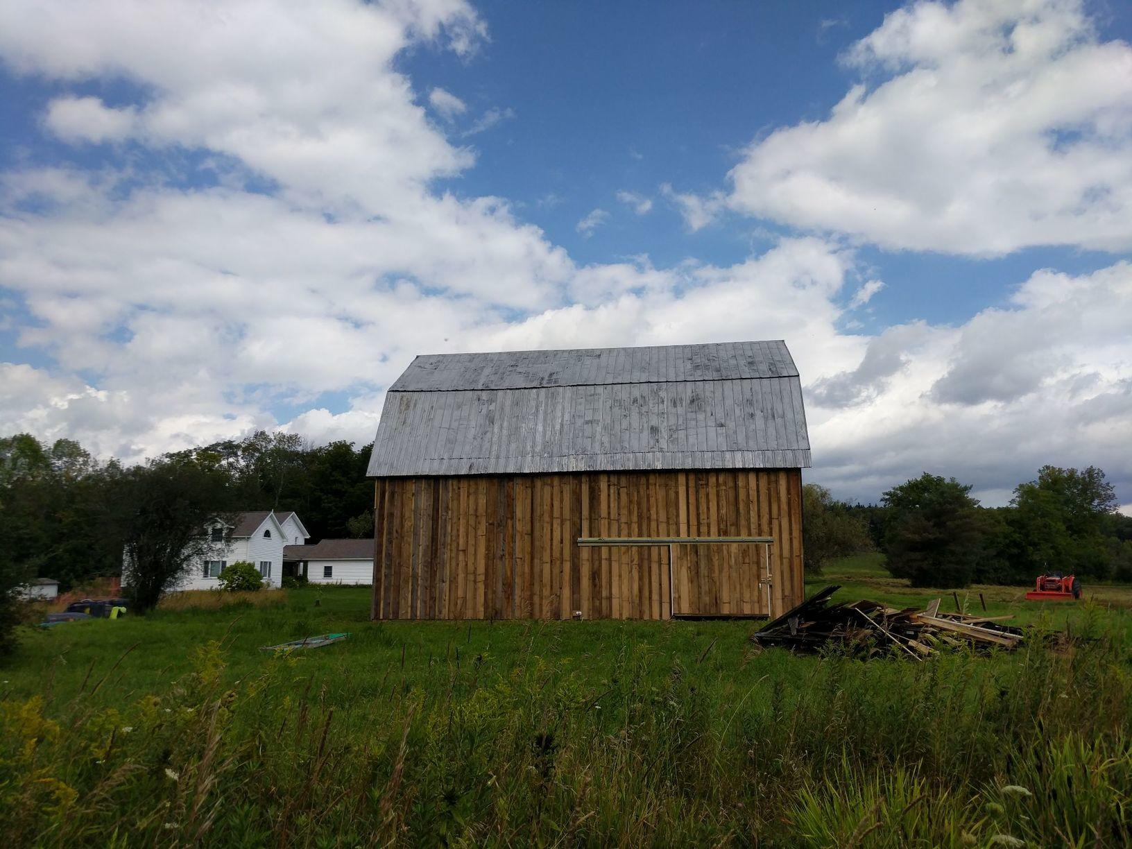 Face Lift to a Barn in Corning, NY - After Photo