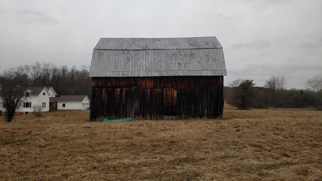 Face Lift to a Barn in Corning, NY - Before Photo