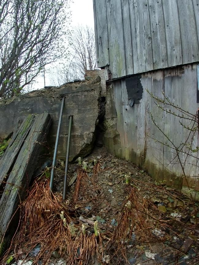 Foundation Repair Clymer, NY - Before Photo