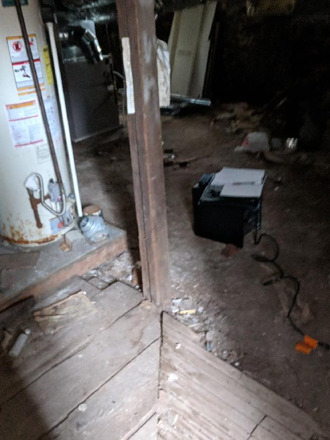 Foundation Repair Binghamton, NY - Before Photo