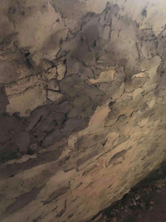 Newark Valley Foundation repair - Before Photo