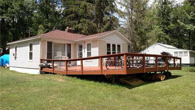 Deck near Cross Lake