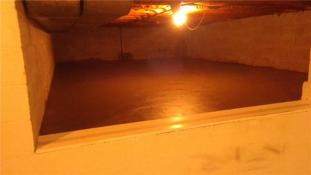 Crawl space water issues GONE!