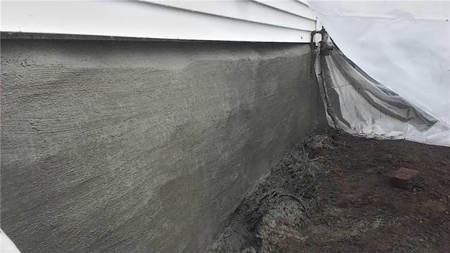 Sealing rock basement foundation in Fulton