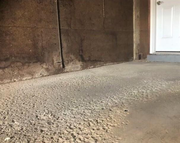Lifting a Concrete Garage Floor, Ithaca, NY