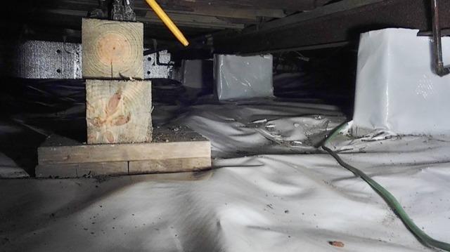 Crawlspace repair, East Syracuse, NY