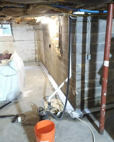 Basement Waterproofing in Marietta, NY