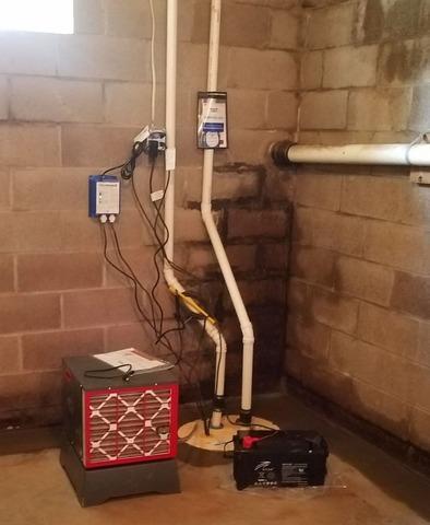 Basement Waterproofing Oswego, NY