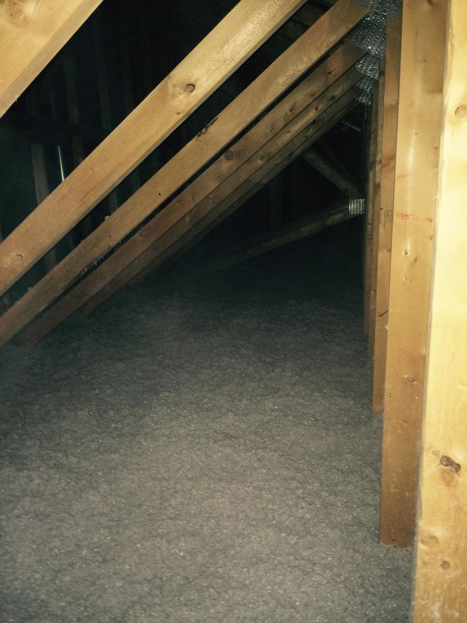 TruSoft Attic Insulation Installed in Sherwood, WI - After Photo