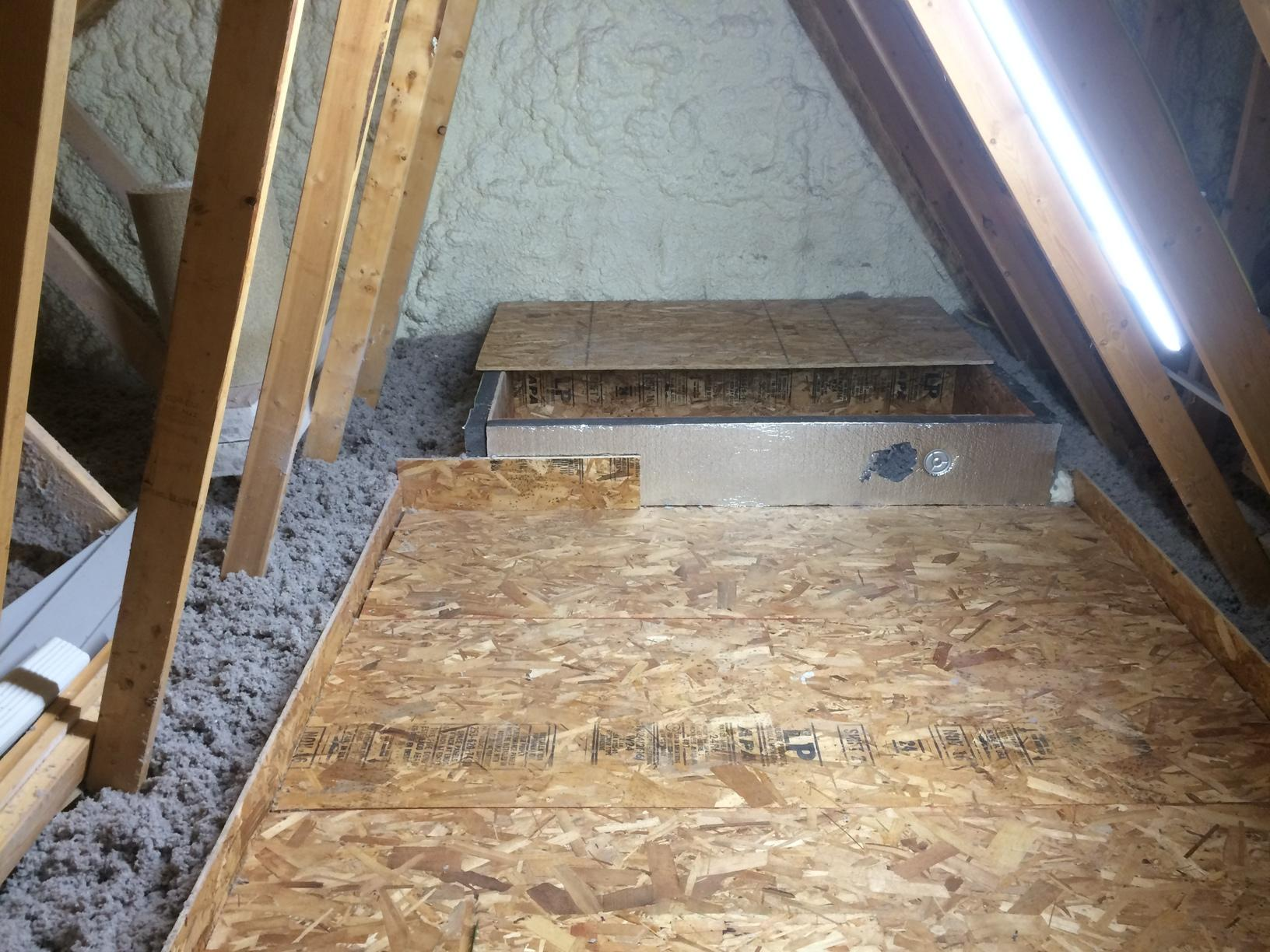 Total Attic Insulation Makeover in DePere, WI - After Photo