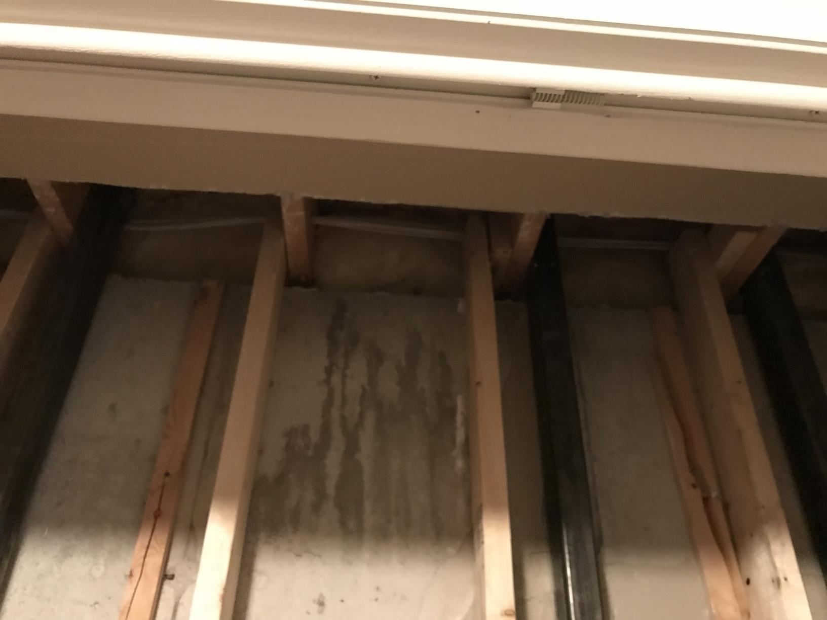 Insulating Rim Joists with Spray Foam in Fond du Lac, WI - Before Photo
