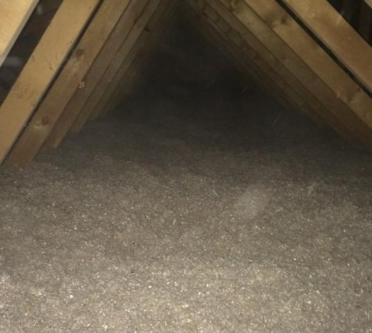 Blown In Cellulose Insulation in Greenleaf - After Photo