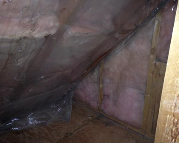 Remove Mold and Fiberglass Insulation and Insulate with Spray Foam in Oconto Home