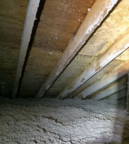 Insulate Home Attic in Combined Locks With R60 Blown In Cellulose - After Photo