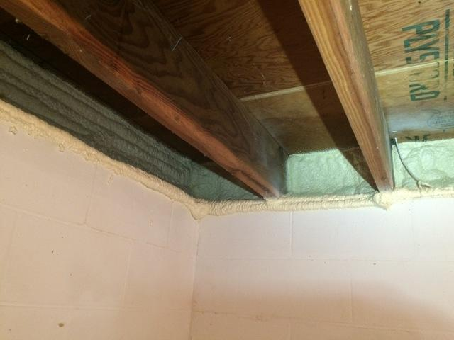 Air Sealing a Good Option to Insulate Rim Joists in Appleton, Wisconsin Home