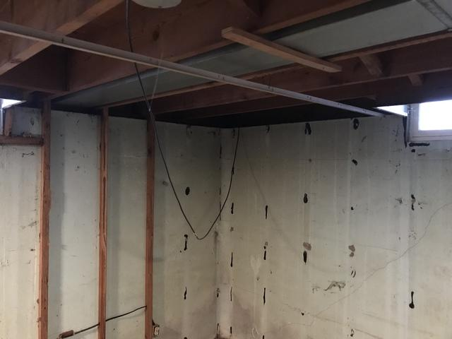 Insulating Rim Joists with Spray Foam in Menasha, WI