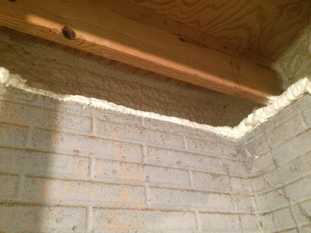 Air Sealing Basement Rim Joists With Spray Foam in Oshkosh, WI