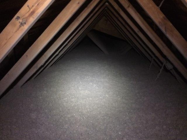 Insulating an Attic in Fond du Lac with R60 Cellulose - After Photo